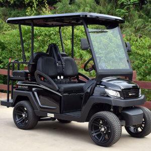 4-Seat Golf Cart (Black)