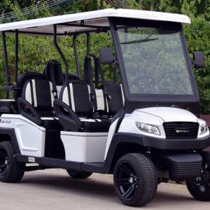 6-Seat Golf Cart (White)
