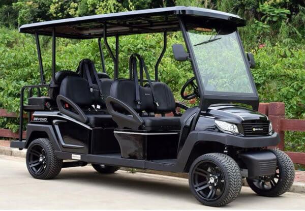 6-Seat Golf Cart (Black)